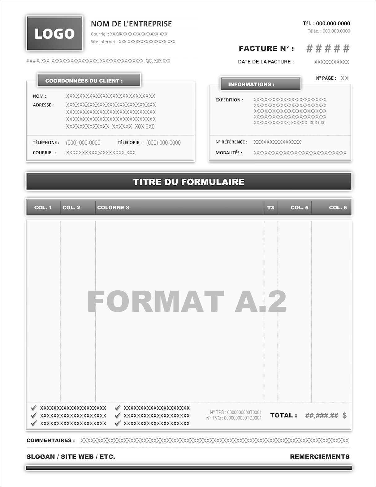 FORMAT A.2