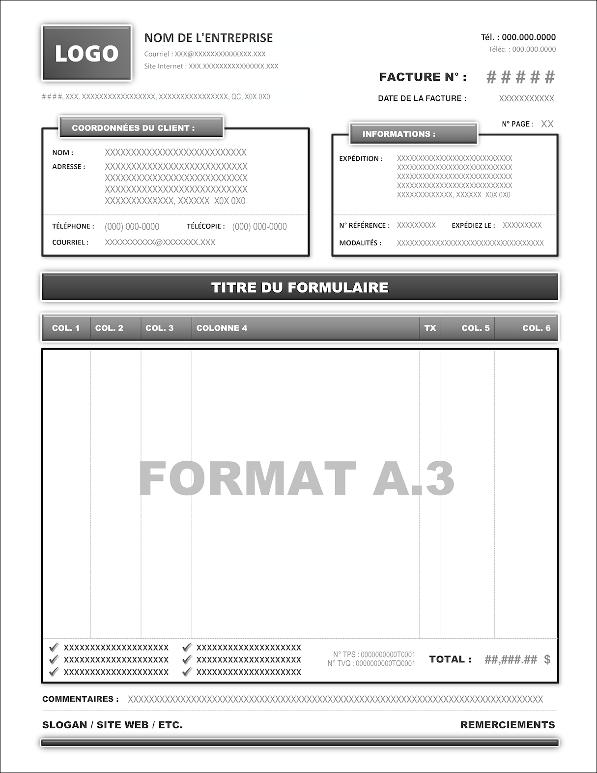 FORMAT A.3