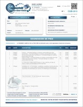 MODÈLE SE.2 | SERVICES | SOUMISSION DE PRIX | FORMAT A.1