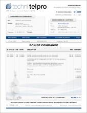TE.2 - TECHNOLOGIE - BON DE COMMANDE - FORMAT B.1
