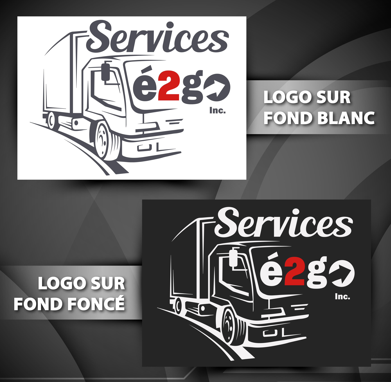 cr ation d 39 un logo entreprise en transport sp cialis cr ation et programmation de. Black Bedroom Furniture Sets. Home Design Ideas