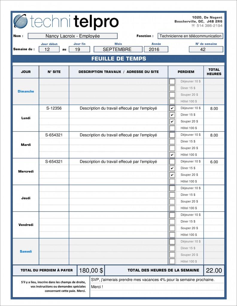 PDF DYNAMIQUE_INTERACTIF - FEUILLE DE TEMPS EMPLOYÉS - TECHNI-TELPRO-2