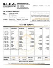 C.2 - CONSTRUCTION - CO.4 - ÉTAT DE COMPTE