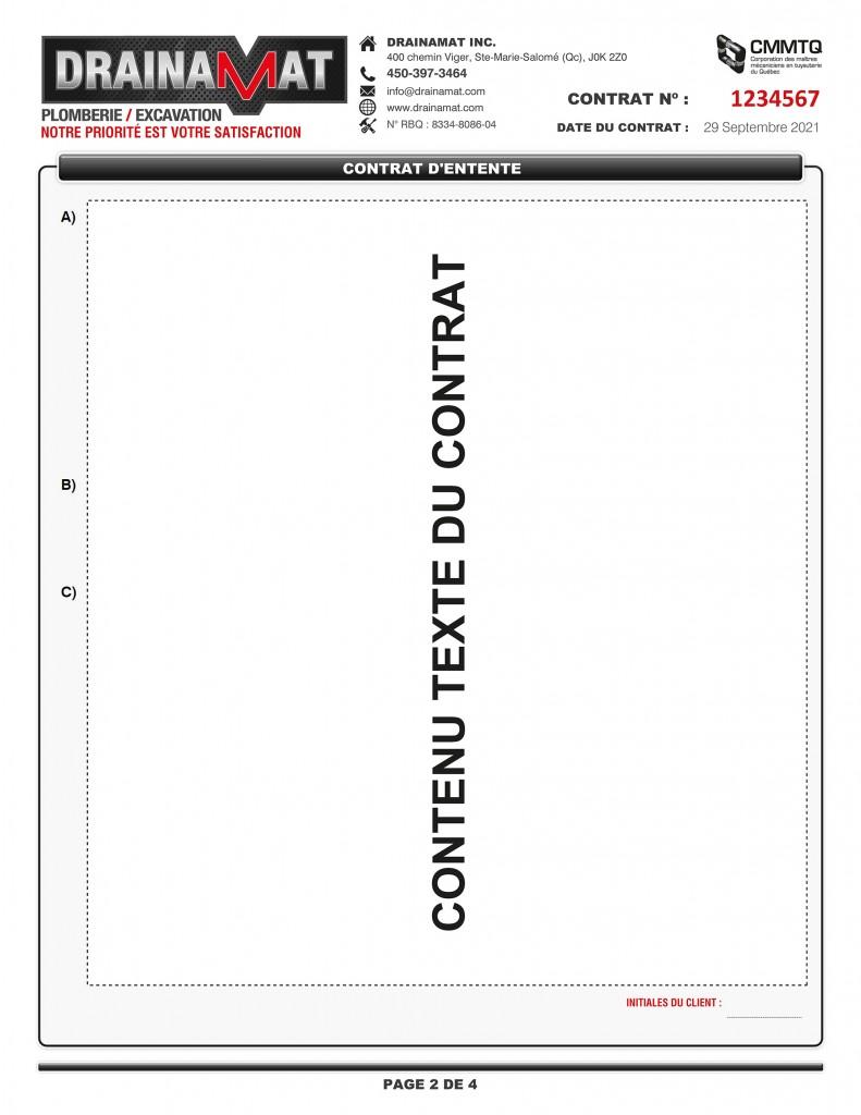 CONTRAT D'ENTENTE - FORMULAIRE PDF DYNAMIQUE - DRAINAMAT INC - IMPRIMÉ_Page_2