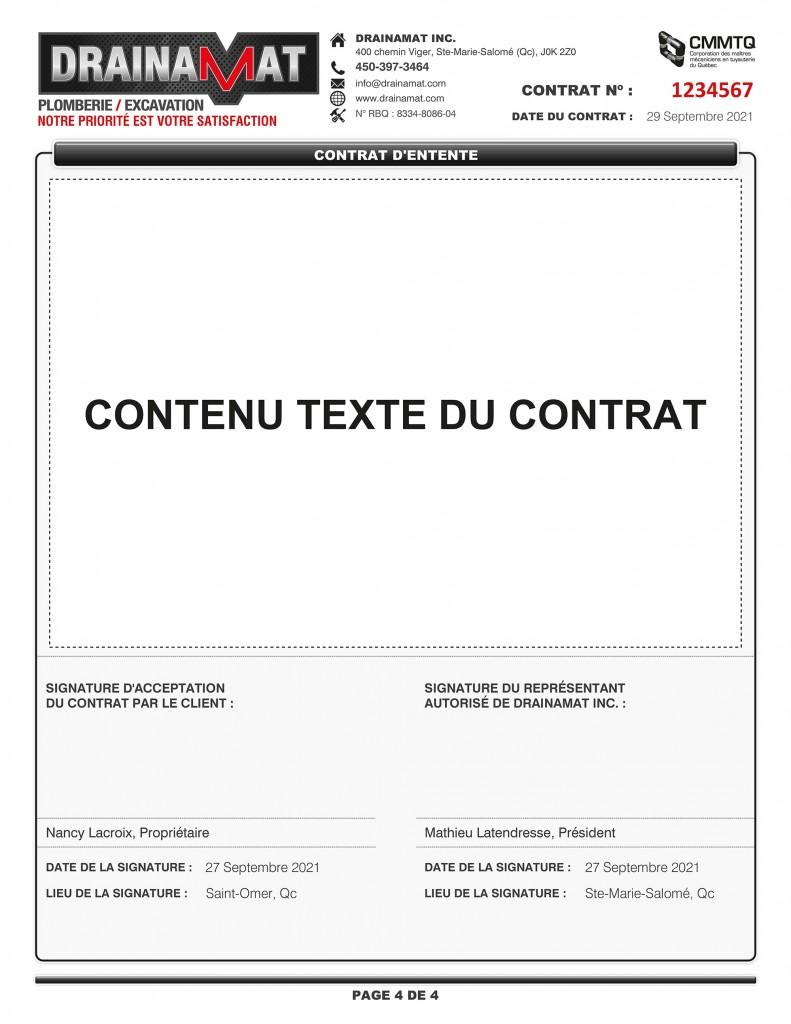 CONTRAT D'ENTENTE - FORMULAIRE PDF DYNAMIQUE - DRAINAMAT INC - IMPRIMÉ_Page_4