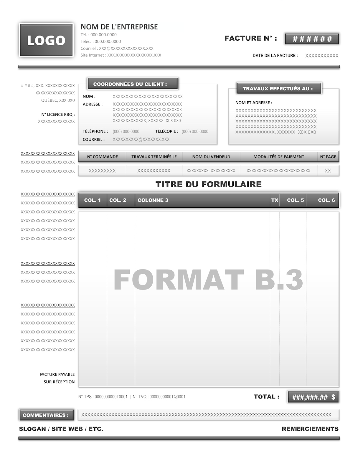 FORMAT B.3