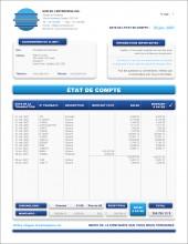 MODÈLE TE.2   TECHNOLOGIE   ÉTAT DE COMPTE   FORMAT A.1