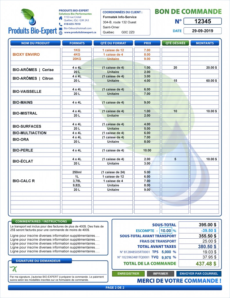 FACTURE_PDF À REMPLIRE_DYNAMIQUE_INTERACTIF_ENTREPRISE_DÉTAILLANT_PRODUITS_BIO