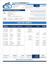 B4_TÉLÉCOMMUNICATION_TE3_ÉTAT DE COMPTE_FORMULAIRE_SAGE 50_SIMPLE COMPTABLE