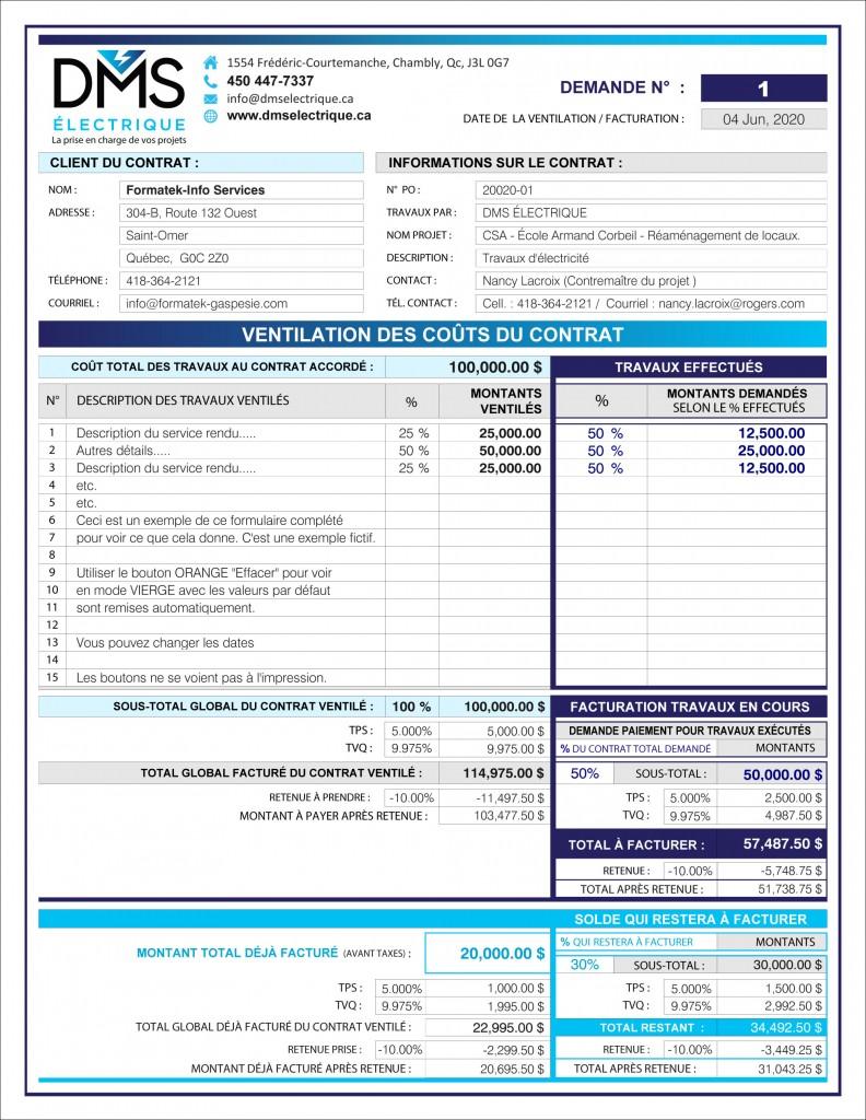 PDF DYNAMIQUE_INTERACTIF_TABLEAU_VENTILATION DES COÛTS DU CONTRAT_DMS ÉLECTRIQUE-2
