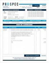 SE.1 BON DE COMMANDE FORMAT B.1 SERVICES